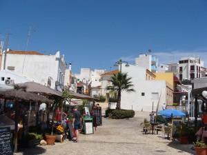 Alvor town and restaurantes