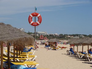 Alvor beach, Portugal